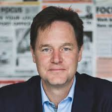 An image of former deputy prime minister and Lib Dem leader, Nick Clegg