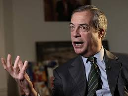 An image of MEP and former UKIP leader Nigel Farage